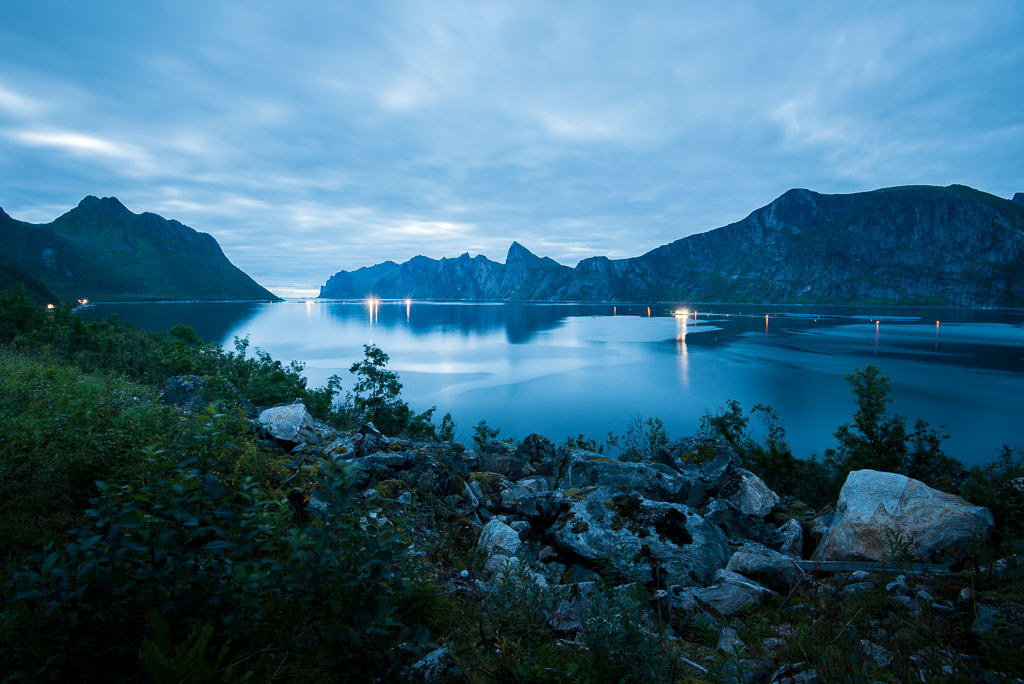 Mefjord, Senja in Norway