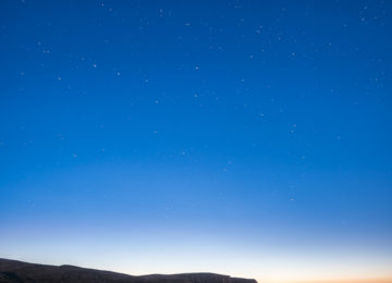 Nordkapp stars, night,